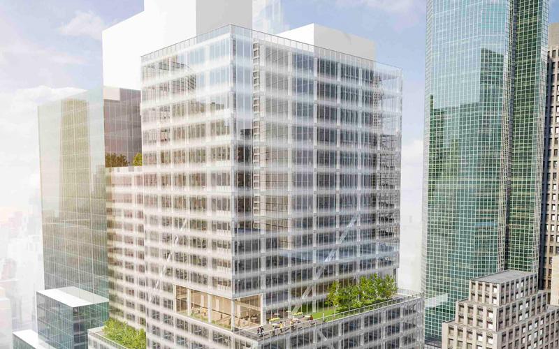 LL 390 Madison, Benson Industries, Building Rendering
