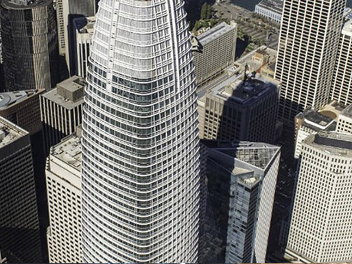 Salesforce Tower, benson Industries, glass facades