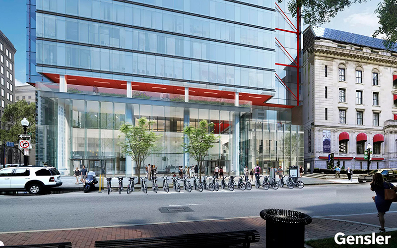 One Post Office Square, Benson Industries, New Project, Boston, Glass Facade,