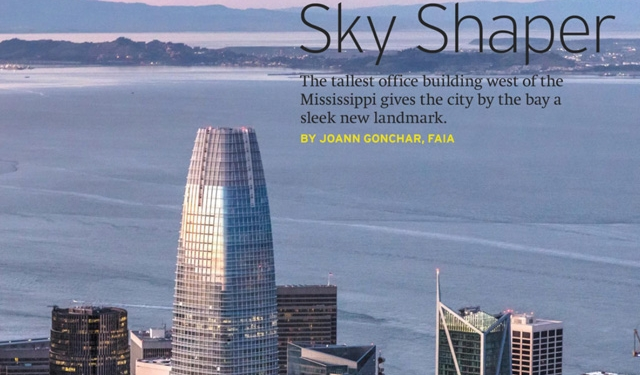 Sky Shaper, Salesforce Tower, San Francisco, Benson Industries, Glass, Architectural Record