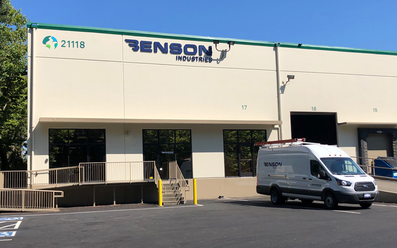 Benson Industries, Seattle, Benson Glass, New Facility, Glass Curtainwall