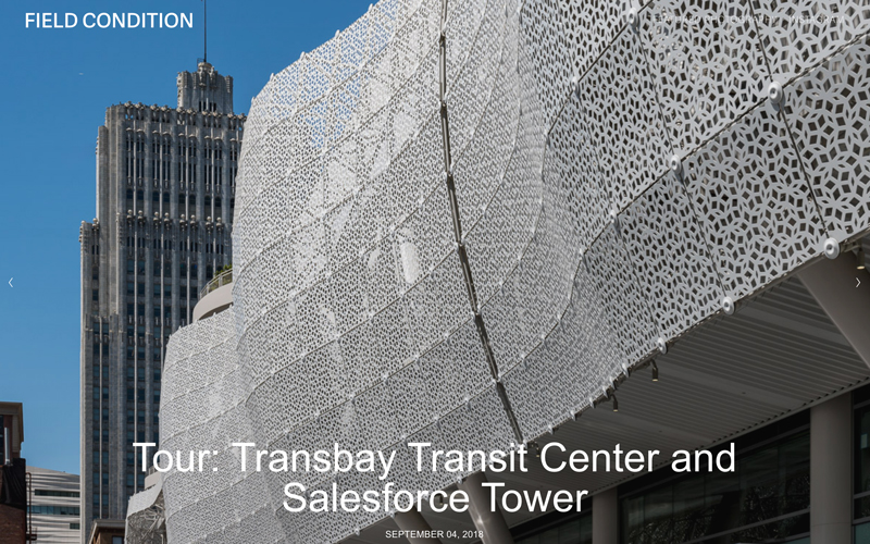 Salesforce Tower, Transbay Transit Center, Pelli Clarke Pelli Architects, Benson Industries, San Francisco, CA
