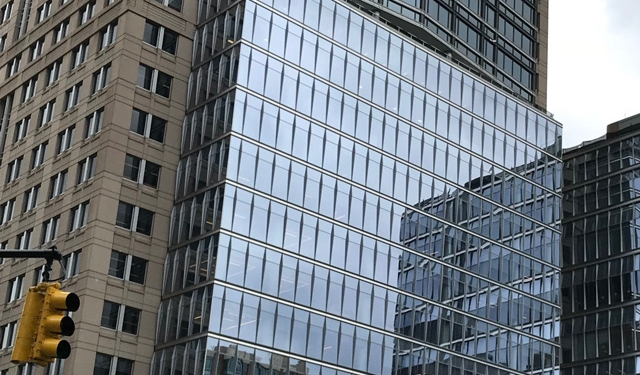 388-390 Greenwich Street, Tribeca, New York, NYC, Benson Industries, glass facade