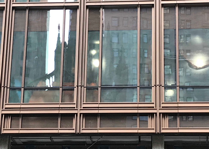 74 Trinity Place, New York City, Curtain Wall, Facade, benson Industries, glass curtainwall