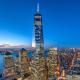 One World Trade Center, Benson Industries, NYC, New York, Sunset