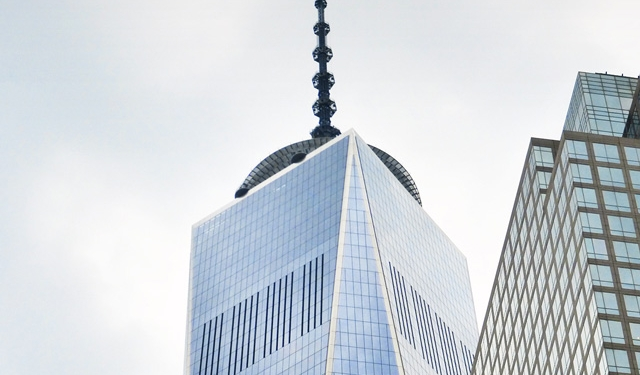 One World Trade Center, New York City, Benson Industries, Glass Facade, Custom Curtainwall, Blast Resistant