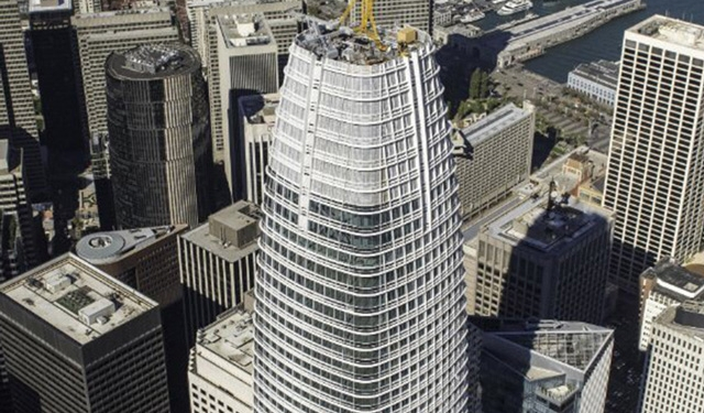 Salesforce Tower, San Francisco, CA, LEED Platinum Certified, Benson Industries
