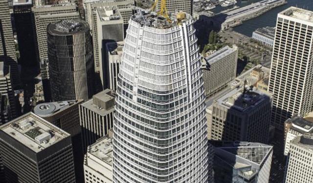 Salesforce Tower, San Francisco, CA, LEED Platinum Certified, Benson Industries