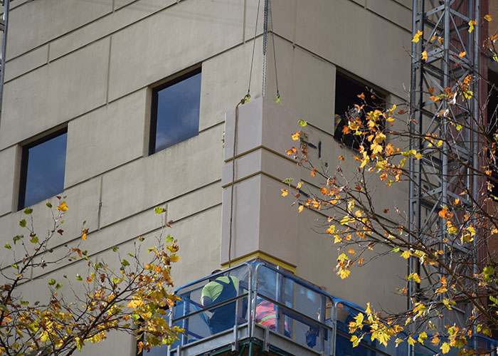 The Portland Building, Portland, Oregon, Benson Industries, Install, Facade, Curtain wall
