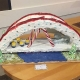Gingerbread, bridge, contest, Minions, candy canes, architectural